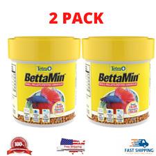 New listing Tetra 77019 Betta Floating Mini Pellets for Bettas, 2 Packs 1.02 oz (2.04)