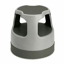 Cramer 50011PK-82 Scooter Stool Rolling Step Stool Holds Up To 300 lbs In Gray