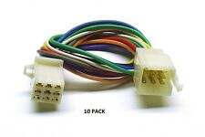 10 PACK 9 PIN SMALL PM Series Multi-Pin Connector Color-Coded 18 AWG Wire #9 PM
