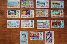 ILE DE JERSEY-timbre Stamp Yvert et Tellier n°5 à 19 n** (cyn2)