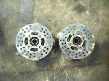 Yamaha Raptor YFM 660R 660 front hubs rotors discs 2001 01 02 03 04 05