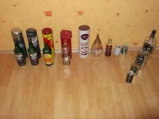 Boites et bouteilles de collection