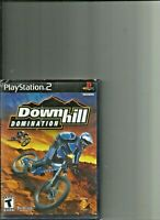 PS2 DOWNHILL DOMINATION Playstation 2 Case and Booklet  included