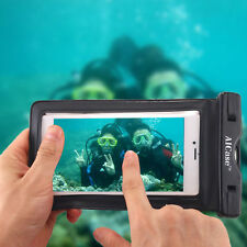 Underwater Waterproof Case Bag Dry Pouch FR Mobile Phone Samsung iPhone 8 7 Plus