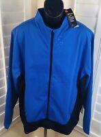 New Under Armour Golf ColdGear Infrared Full Zip Jacket, 1345468 510, Men's 2XL