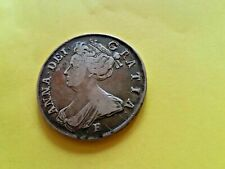 More details for stuart english coin. silver halfcrown of anne (1702-1714).