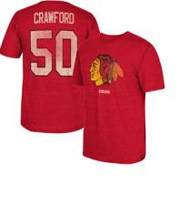 NHL CCM Vintage Chicago Blackhawks #50 Hockey Shirt New Mens Sizes $35