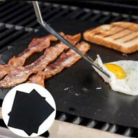 1/2/3/5x New Non-stick Black BBQ Grill Mat Barbecue Baking Liner Cooking Sheet
