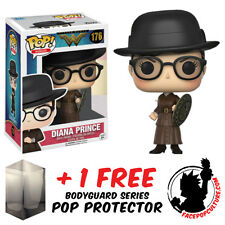 FUNKO POP DC WONDER WOMAN DIANA PRINCE EXCLUSIVE + FREE POP PROTECTOR