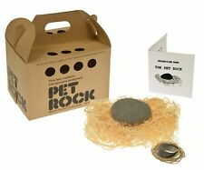 Original Pet Rock with walking leash silly gag gift Gary Dahl's 1970 exotic pets