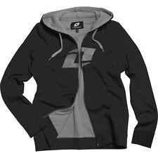 One Industries Womens NUMBER ONE Hoody Zip Sweatshirt BLACK M Medium 07031 SALE
