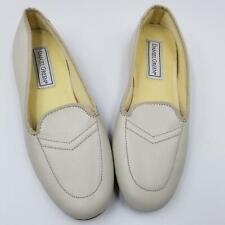 Daniel Green Womens Shoes SZ 5.5 Beige Wedge Leisure Slippers Vintage Retro