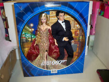 James Bond 007 Ken and Barbie Giftset NRFB (read) Collector Edition Mattel