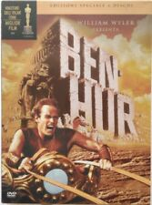 Dvd Ben-Hur - Ed. Speciale digipack 4 dischi con Charlton Heston 1959 Usato