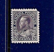 1911+ Canada Scott #120 Unused ~ Sc CV = $80.00 ~ King George V 'Admiral' Issue