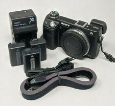Sony Alpha NEX-6 16.1MP Digital Camera - Black (Body Only) - Sale!