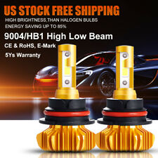 9004 ORSAM Headlight 6000K LED Car Head Lamp Conversion Kits HIGH LOW Beam HB1