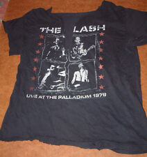 THE CLASH LIVE AT THE PALLADIUM 1979 T-Shirt; L; modified for female casual wear
