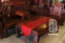 BRAND NEW Chinese -red 100%HANDMADE Classical style silk table runner