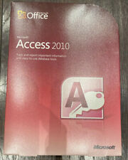 Microsoft Office Access 2010 FULL UK Retail Version 077-05753 DVD