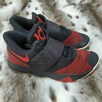 Nike KD Trey 5 VI Black University Red Basketball Shoes AA7067-006 Men Size 8.5
