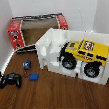 Nikko Hummer H2 Radio Control Car 1:18 Scale - Yellow - Working