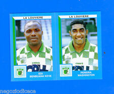 FOOTBALL 2000 BELGIO Panini-Figurina -Sticker n. 453 - LA LOUVIERE -New