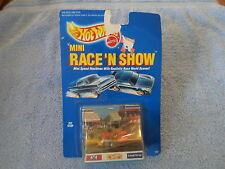 1989 HOT WHEELS MINI RACE 'N SHOW - PIT STOP - #9807