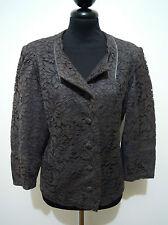 CULT VINTAGE '70 Giacca Donna Cotone Pizzo Lace Cotton Woman Jacket Sz.M - 44
