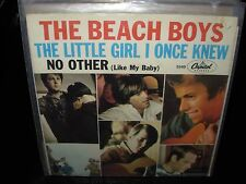 """BEACH BOYS little girl i once knew / no other ( rock ) 7""""/45 picture sleeve"""