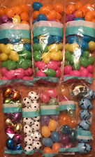Lot Of 193, Colorful Plastic Easter Eggs, Fillable, NEW