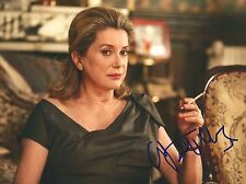 Catherine Deneuve signed 8x10 photo - In Person Exact Proof - Belle De Jour