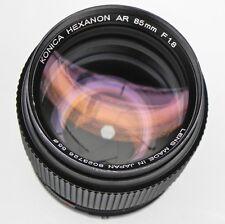 Konica 85mm f1.8 AR AE  #8023726