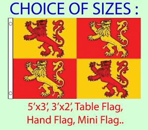 Owain GlynDwr Flag Choice of Polyester 5x3' 3x2', Hand Flag, Table Flag.Free P&P