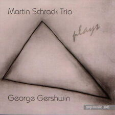 Martin Schrack Trio Plays George Gerswin (But Not For Me) 1995 YVP CD Album