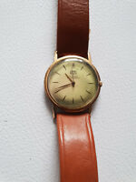 Alte Armbanduhr UMF Ruhla Bauhaus Stil 36 mm Rarität Handaufzug rar Sammler