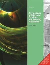 A First Course in Differential Equations : With Modeling Applications by Denn...
