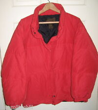Eddie Bauer Women's Goose Down Jacket, Red, Large, Nylon Lining