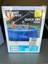 *New* *Hot* Summer Waves P1001536A138 Swimming Pool - Blue Free Shipping