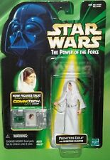 STAR WARS POTF SERIES COMMTECH PRINCESS LEIA WITH SPORTING BLASTER FIGURE