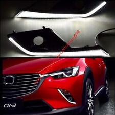 For Mazda CX-3 CX3 2016 2017 LED Daytime Running Light DRL fog lamp NEW