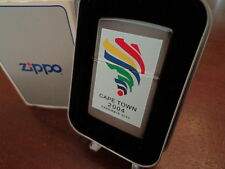 CAPE TOWN 2004 OLYMPIC CANDIDATE CITY RARE ZIPPO LIGHTER MINT IN BOX 1996