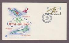 Great Britain # 566 , Royal Air Force - RAF FDC - I Combine S/H