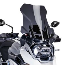 Bulle Haute Protection HP Puig BMW R 1200 GS Adventure 14-18 fumé foncé