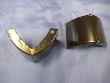 PAIR MGB REAR WING BELOW LAMP END INFILL PANEL CHROME BUMPER CONVERSION MB101