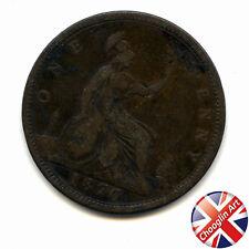 A 1870 British Bronze VICTORIA PENNY Coin                      (Ref:1870_133/4)