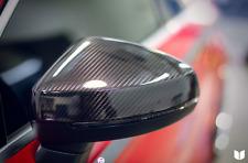 AUDI A3 S3 RS3 8V Fibra De Fibra De Carbono Real De Reemplazo Espejos con Lane Assist