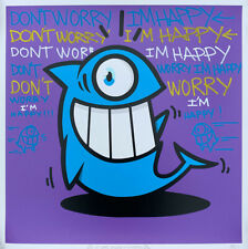 EL PEZ - CLASSIC FISH - PURPLE AP - 'DON'T WORRY' - 2019 - HAND FINISHED EDITION