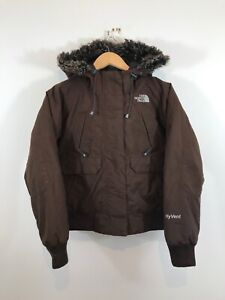 The North Face Hyvent Padded Hooded Quilted Jacket Coat Small