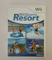 Nintendo Wii Sports Resort Game W/Manual and Case Tested Video Game Surf Joust